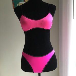 Victoria's Secret Hot Pink Bikini Small